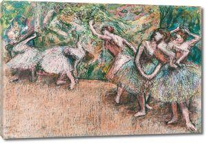 Дега - Балетная сцена