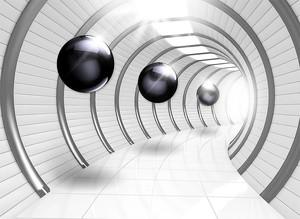 Шары в тоннеле