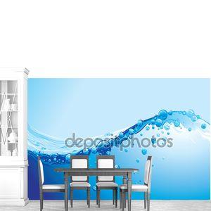 фон воды