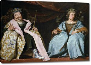 Кано Алонсо. Два короля Испании