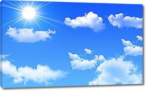 Облака в чистом небе