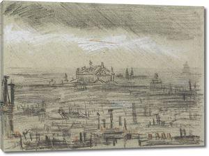 Ван Гог. Вид на Париж с оперой