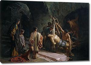 Феррант и Фишерманс Алехандро. Погребение святого Себастьяна