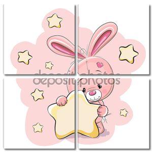 Кролик с звездой