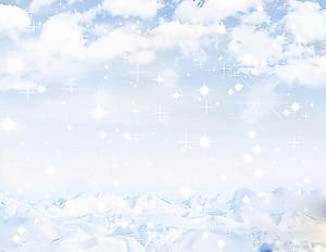 Облака зимой