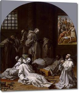 Кардучо Висенте. Тюремное заключение и смерть десяти членов картезианского монастыря в Лондоне