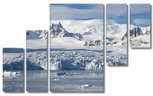 Ледники на побережье Западного Антарктического полуострова s