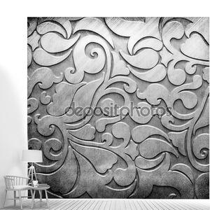 Металлическая пластина с классическим орнаментом