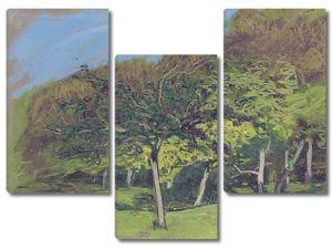 Моне Клод. Плодовые Деревья, 1865-75
