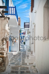 улицы Миконос