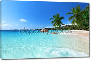 Пляж Ансе Лацио на острове Праслин, Сейшельские острова