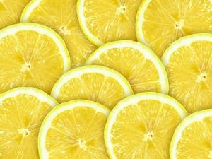 Дольки сочного лимона. Паттерн