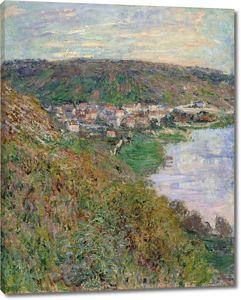 Моне Клод. Вид Ветей, 1880 01