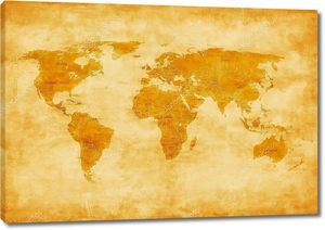 Карта старого света