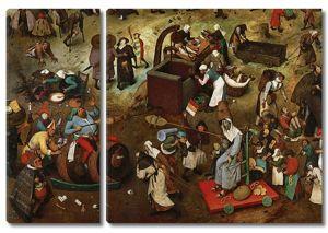 Брейгель Битва карнавала и поста. (6)
