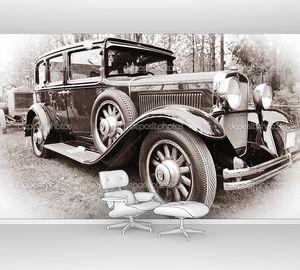 Старый американский автомобиль