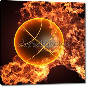 Баскетбол в огне
