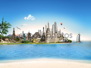 туризм – едет по всему миру
