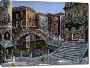 Ночная Венеция с тихими улочками
