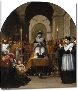 Кардучо Висенте. Чудо св. Бруно над телом Раймона Диокреса