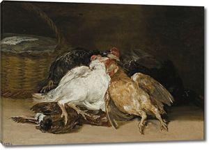 Франсиско Гойя. Мертвые птицы