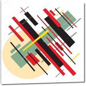 Советская абстрактная живопись в стиле социалистического авангарда .