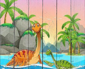 Динозавры, живущих в океане