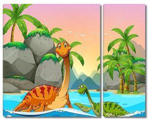 Динозавры, живущие в океане