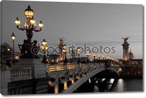 Мост Александра iii, Париж, Франция