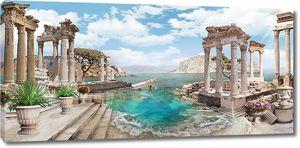 Древности в море