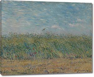 Ван Гог. Пшеничное поле с куропаткой