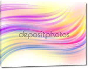 Красивый цвет фона - волна