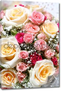 Свежие красивые свадебные цветы ih руки