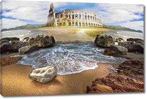 Колизей и побережье