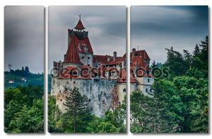 Bran Castle HDR, landmark in Romania
