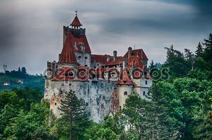 Bran Castle HDR, landmark in Romania