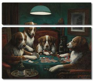 Кассиус Кулидж. Игра в покер