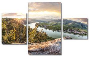Дунай в Австрии