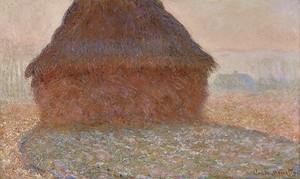 Моне Клод. Стог сена под солнцем, 1891