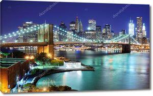 Нью-Йорк Сити и Бруклинский мост