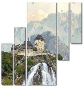 Водопад у замка