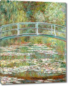 Клод Моне. Мост на пруду с кувшинками