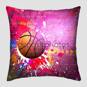 Векторный фон баскетбол спорт