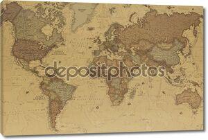 Древняя географическая карта