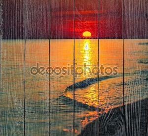 Морской закат