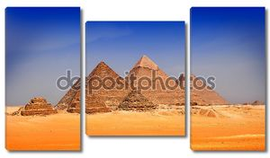 пирамиды в Гизе, Египет