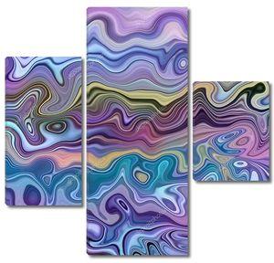 Фиолетовая мраморная текстура