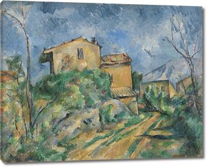 Поль Сезанн. Дом Марии с видом на Шато Нуар