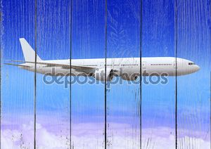 Самолет над облаками Аэросфера