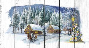 Рождественская сказка деревня